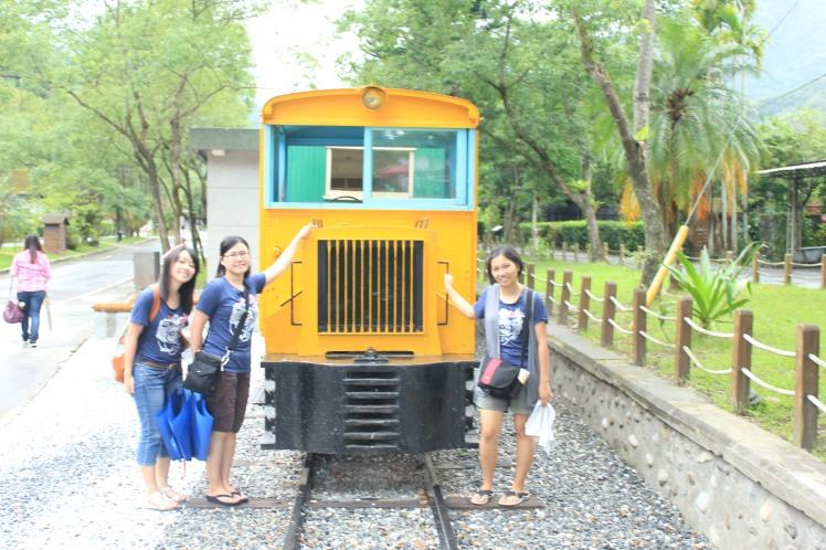 林田山的老火車