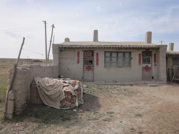 景點之三:草原上人民(除了蒙古包以外)的住屋