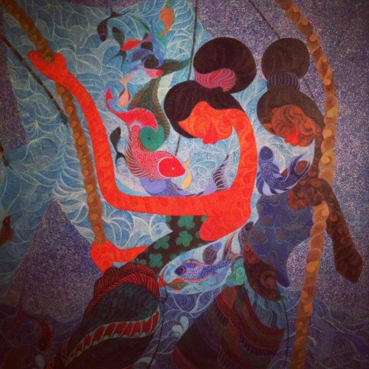 Untitled, Marisa Darasavath 遼國父權社會裏總是被忽略的女性色彩