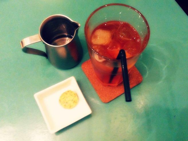 冰茶配伯爵茶餅乾