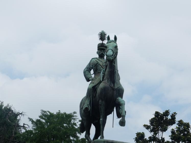 公園裡的某日本將軍你好